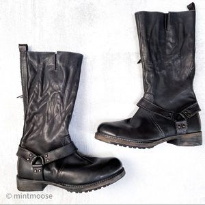 VINTAGE FOUNDRY CO Knee High Moto Madison Boot